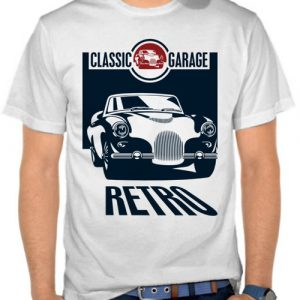 kaos retro classic garage